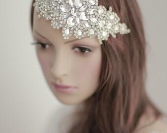 bridal rhinestones headpiece----v404