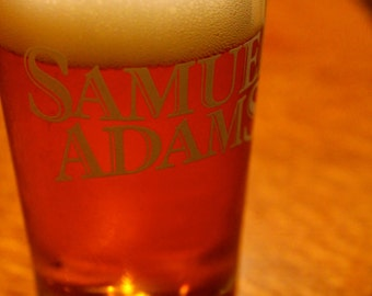 Sam Adams Beer Print