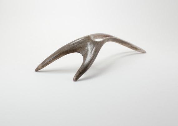 Antler Tine Hair Fork - Minimal Modern Primitive
