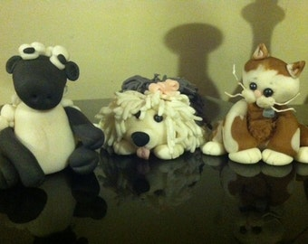 Edible Personalized  Cake Toppers of Your Pet!