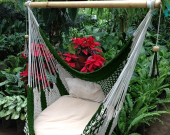 Irish Green Hammock Chair