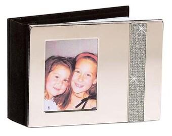 Custom Engraved, Non-Tarnish 4x6 Photo Album