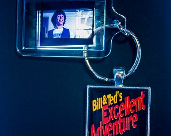Bill & Ted's Excellent Adventure - 35mm Film Cell Key Ring, Key Chain