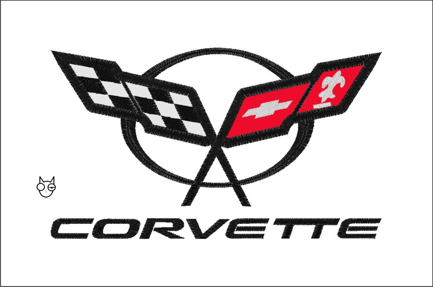 corvette wikipedia - Corvette C5 Logo Wallpaper