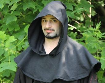 Medieval Hood & Mantle