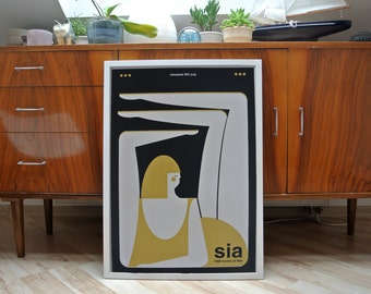 SIA | A2 screenprint | limited edition of 40 | second print