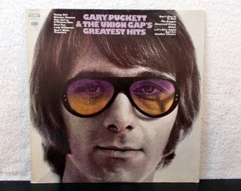 Gary Puckett & The Union Gap's Greatest Hits. 1970 Vintage vinyl LP 33 record album. Young Girl, Woman,Woman and more...