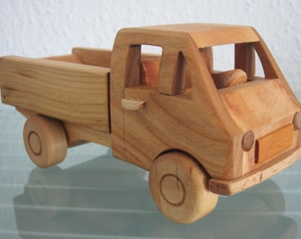 Zuk transporter LKW  Minibus FSO poland east german wood car model car very rare handmade