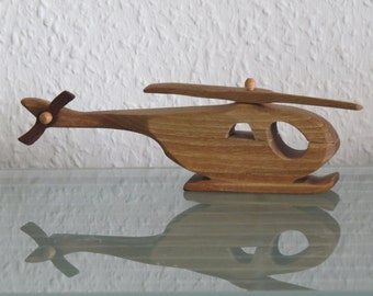 Cayuse helicopter HANDMADE wood