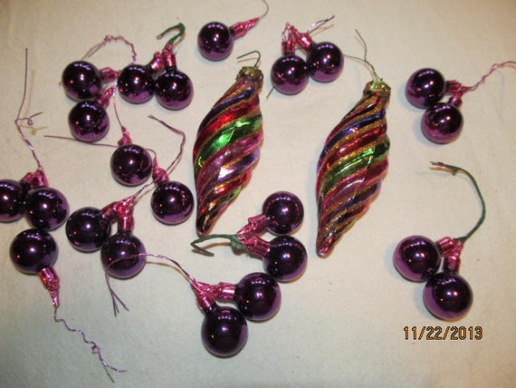 Clearance sale was set of 16 vintage by for Christmas ornament sale clearance