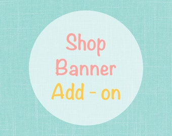 Shop banner customization add on