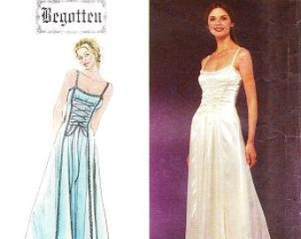 Simplicity 8983 Misses' Evening Gown Sewing Pattern, 4-12