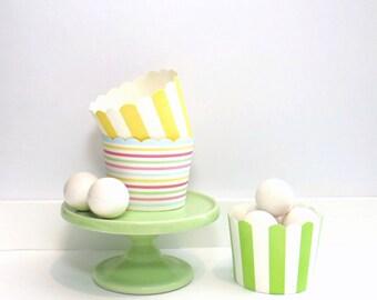Baking/Treat Cups - Rainbow - Set of 25