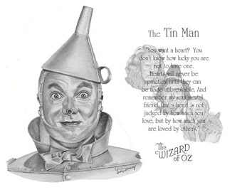 Wizard of Oz - The Tin Man Quote