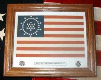 48 Star American Flag, Wayne Whipple Peace Flag of 1912