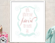 Popular Items For You Are The Fairest On Etsy