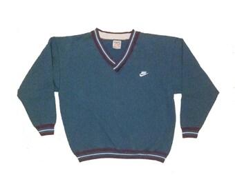 1990's Nike Crewneck Knit Sweater - L