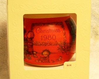 Hallmark Keepsake Christmas Ornament – 1980 MIB, A Mary Hamilton Christmas, Christmas Charmer – QX2194
