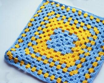 Pillowcase - Ukrainian flag ornament - Home Decor - Yellow - Blue