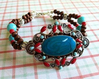 Western Medallion bracelet