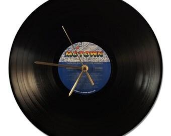 Vinyl Clock Etsy