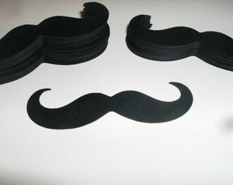 Mustache Die Cut, Mustaches Cut Outs 50 Pack (3030M)