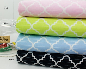 Cotton Fabric in 4 Colors By The Yard