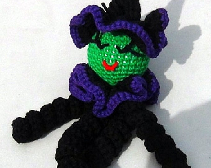 Doll - Halloween Witch Doll - Clown Doll - Spiral Clown Doll - Witchy Poo