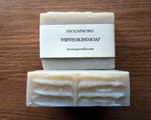 Thieves Blend Soap // Antibacterial Cold Process Soap // Luxury Artisan Bath Soap