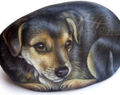 Pet Rock Portraits on Commission