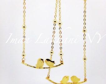 Love bird necklace