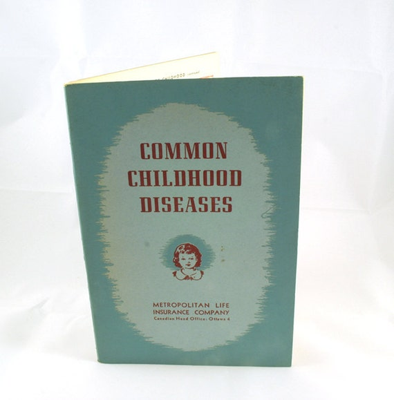 Common Childhood Diseases Book by UNSC2 on Etsy