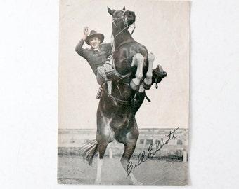 vintage Wild Bill Elliott promo film still print