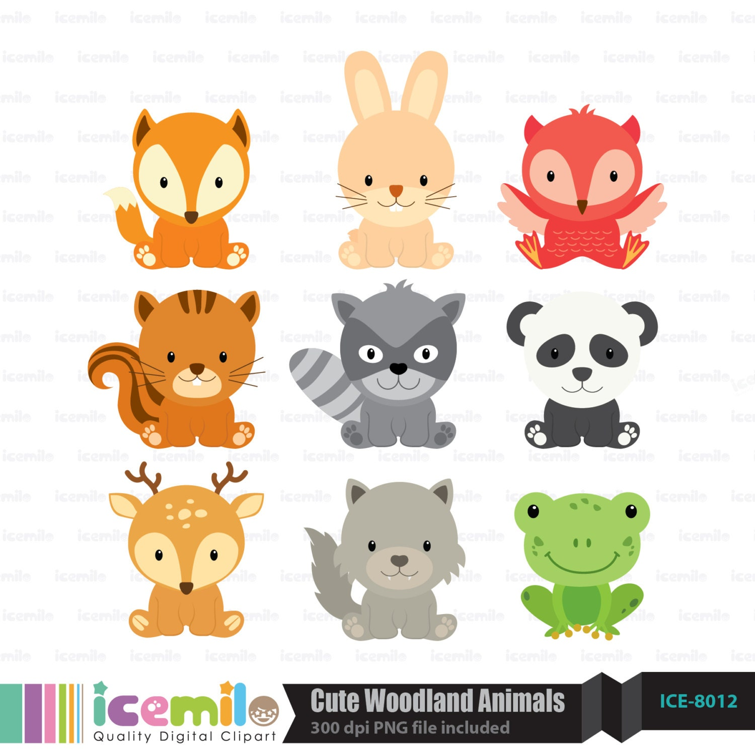 Baby forest animals clipart - photo#22
