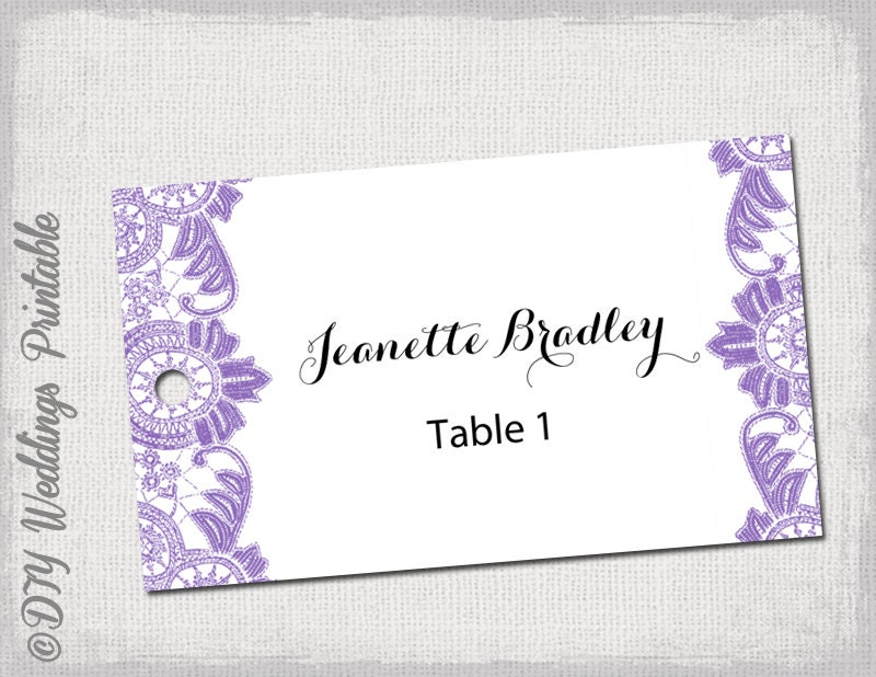 diy favor tags template lavender    wisteria antique