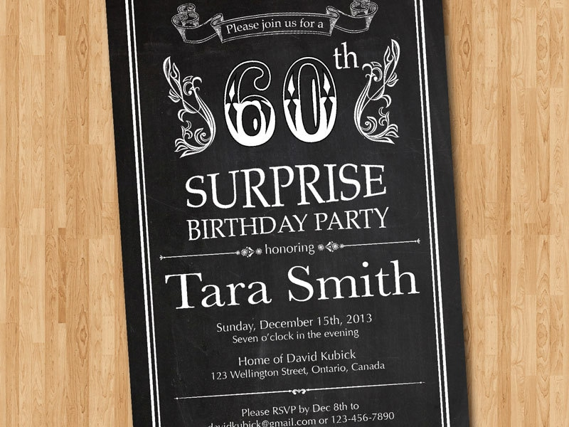 th birthday invite  etsy, Birthday invitations