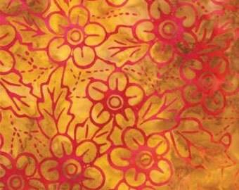 1/2 yard Moda Island Sun Sunshine Batik