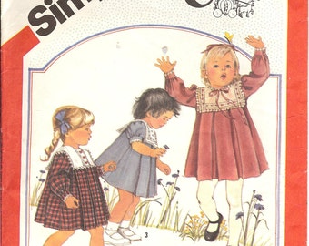 Simplicity 6183  Toddlers' Dress  ID183