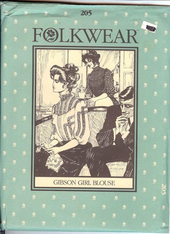 Girl Blouse Sewing Pattern 64