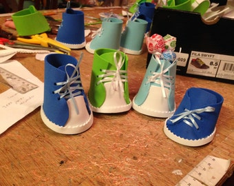 party favor baby shoe