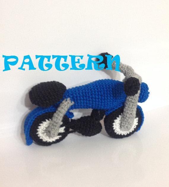 Pattern Motor Bike Amigurumi Crochet Pattern Pdf E Book