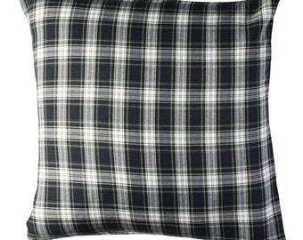 Scottish Pillow cover in BLUE color.