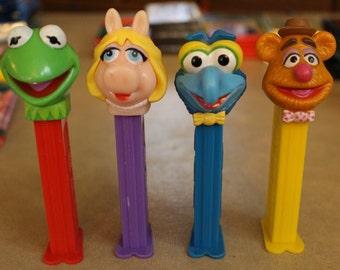 Set of 4 Muppets Pez Dispensers
