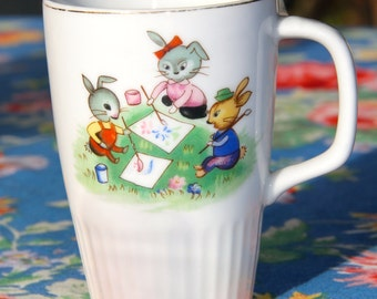 Vintage 1960's Childrens Mug