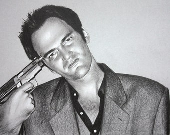 Quentin Tarantino Drawing