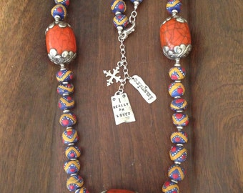 Travel to Tibet Necklace