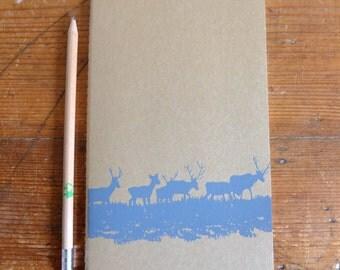 Medium, Plain, Moleskine Notebook with Deer on Grass