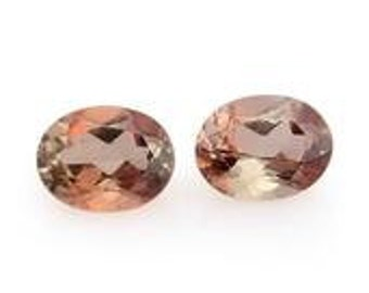 Andalusite Loose Gemstone Set of 2 Oval Cut 1A Quality 4x3mm TGW 0.30 cts.