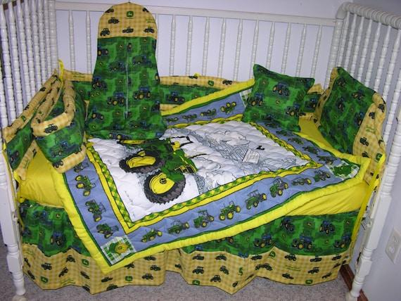 John Deere Bed Set : John deere crib nursery bedding set