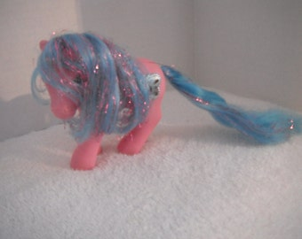 My Little Pony Princess Primrose, Pink Body, Blue with Pink Tinsel in her Mane & Tail